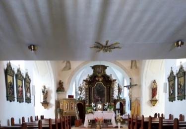 Kostel svatého Matouše - interiér