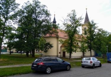 Kostel v Hostomicích
