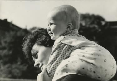 S dcerou Zuzankou v roce 1963, foto archiv herečky