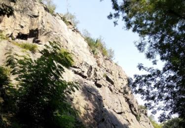 Skály v údolí Vrchlice