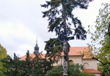 Kříž na náměstí