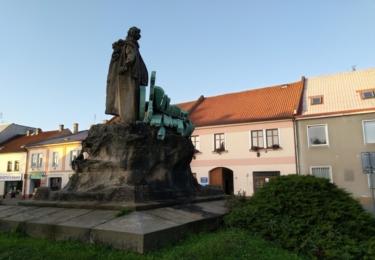 Prokop Veliký a historická radnice v opravě