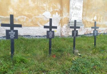 Náhrobky c.k. vojáků