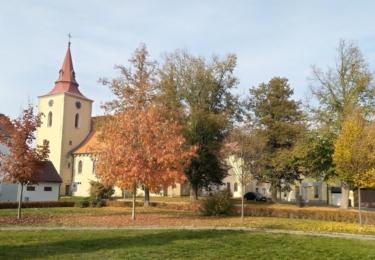 Kostel v Bakově