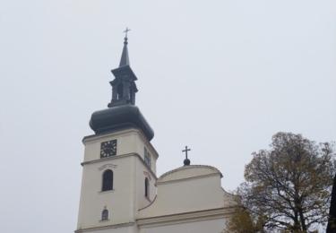 Kostel svatého Václava s vyhlídkovou věží Václavka
