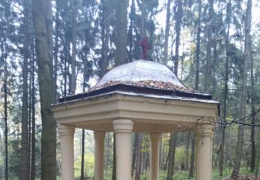 Altán pod kaplí svatého Vojtěcha