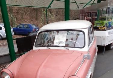 Vůz de Luxe (v růžové barvě)