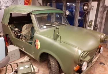 Bojová verze automobilu Trabant