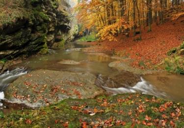 Podzimní pohled na Stezku údolím Lužnice, foto Petr Mareš