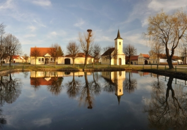 Vesnice Komárov, foto Petr Mareš