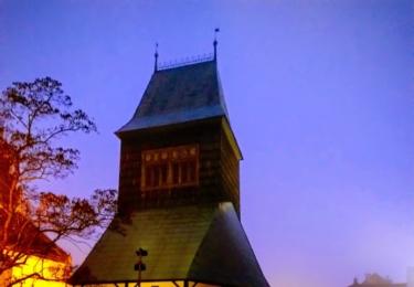 Zvonice kostela