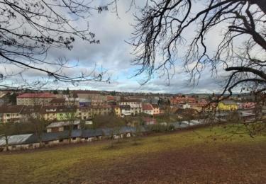 Pohled na město Benešov, foto René Flášar