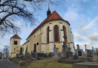 Kostel svatého Mikuláše je nejstarší dochovanou stavbou v Benešově, foto René Flášar