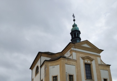 Architektem barokního kostela svaté Anny na Masarykově náměstí byl Giovanni Battista Alliprandi, jeden z nejvýznamnějších českých vrcholně barokních architektů. Foto René Flášar