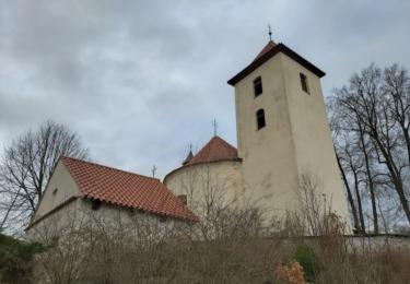 Románský kostel svatého Václava pochází z druhé poloviny 12. století