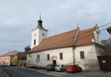 Kostel ve Veltrusech