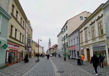 Historické centrum Slaného
