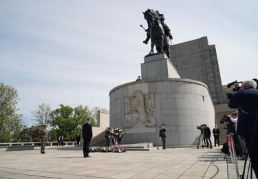 Pieta 8. května v Praze