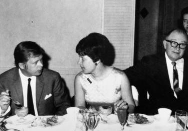Krátce poté, co se Jana Kánská v roce 1968 vystěhovala do Washingtonu a po 17 letech konečně setkala s otcem, se tam setkala s Václavem Havlem, který tehdy právě cestoval po USA