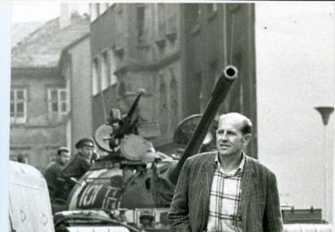 Srpen 1968, foto Bjorn Larsson, ASK Tyreső