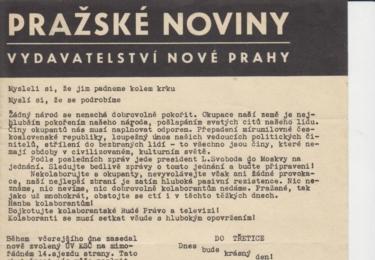 Pražské noviny