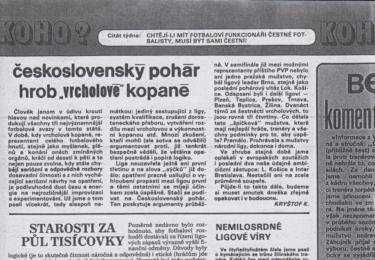 Příloha KO-HO? vycházela v Dikobrazu až do jeho posledních dnů v roce 1989