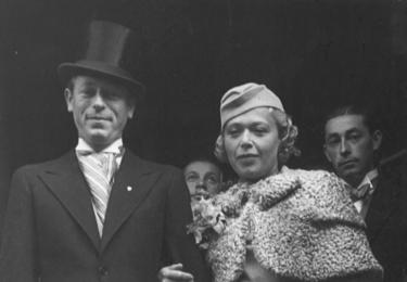Malečkova svatba v roce 1934 byla společenskou událostí celé Prahy