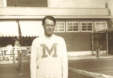 Daviscupový reprezentant Josef Maleček v celé své kráse