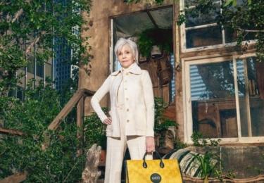 Jane Fonda a móda, v tomto případě Gucci