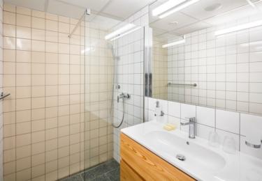 Koupelna v pokoji Superior DBL