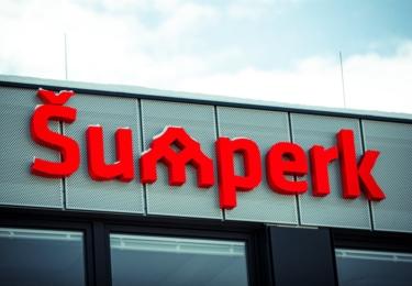 Nové autobusové nádraží v Šumperku