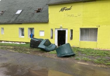 A důsledky povodně