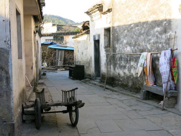 Zákoutí ve vesnici Xidy