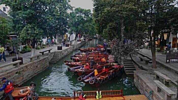 Vodní městečko Tongli