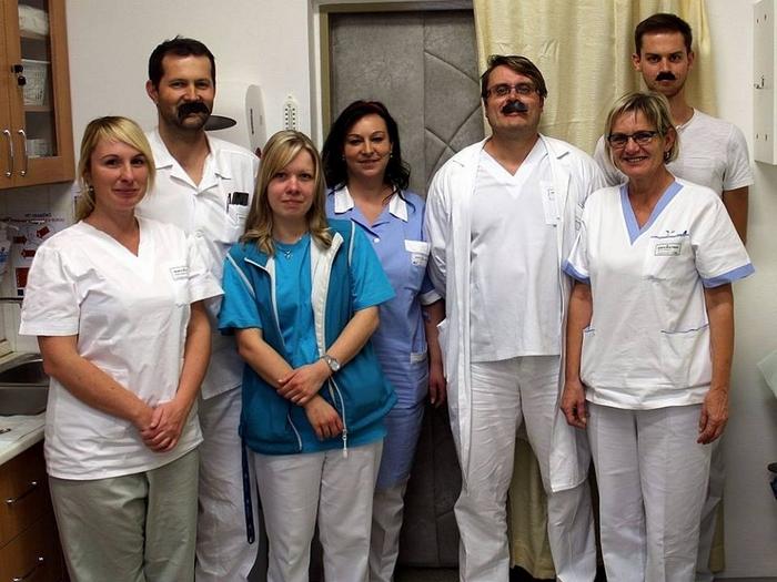 Usměvavý personál nemocnice v Písku si své ocenění po právu zasloužil