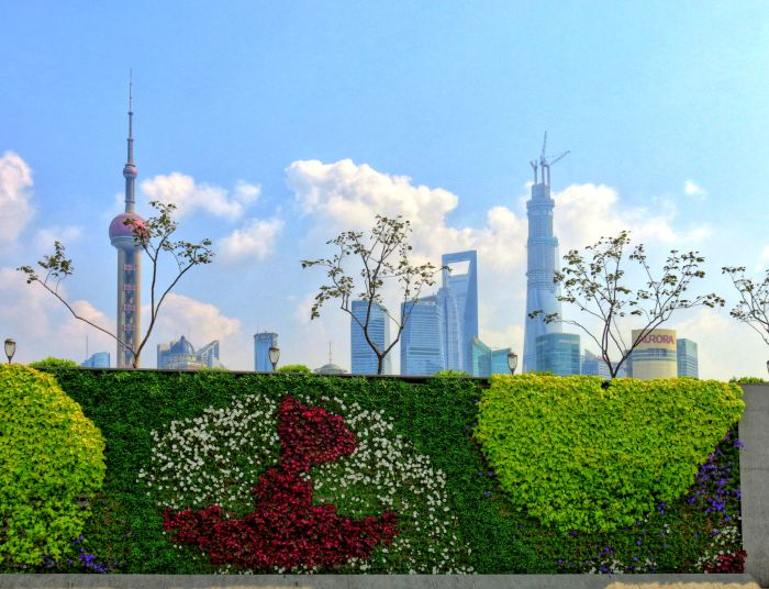 Panorama čtvrti Pchu-tung II
