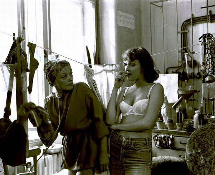 S Janou Brejchovou ve filmu Mladý muž a bílá velryba