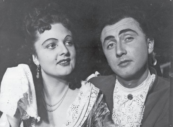 S Blankou Blahníkovou v představení zlínského divadla Lakomec