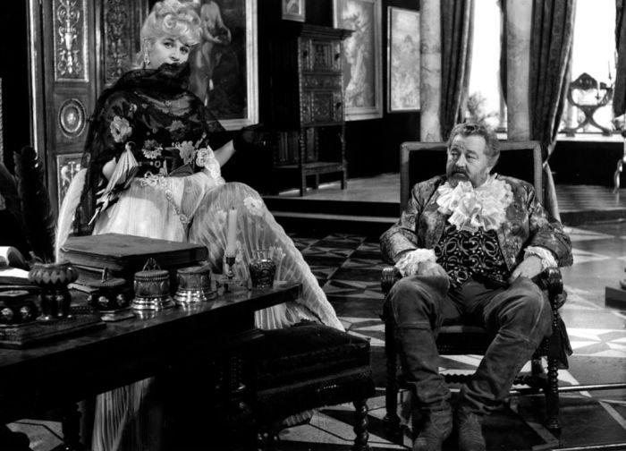 S Janem Werichem v televizní historické komedii režiséra Františka Čápa Kočár nejsvětější svátosti