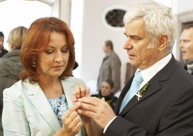V Ordinaci si střihli svatbu nanečisto
