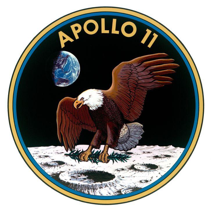 Oficiální logo mise Apollo 11