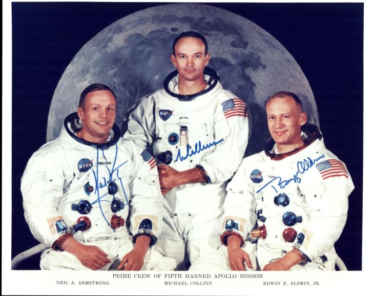 Posádka mise Apollo 11