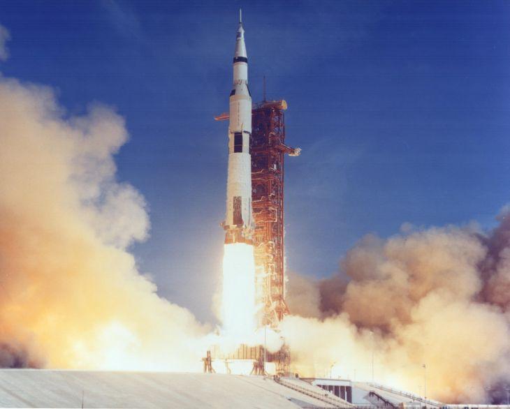 Start z mysu Canaveral