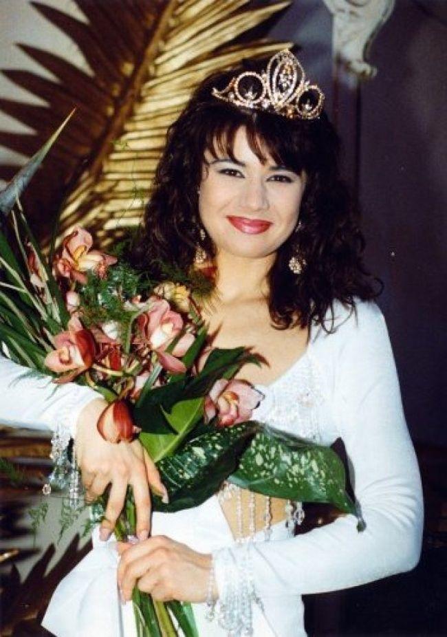 Čerstvá vítězka soutěže krásy v roce 1992