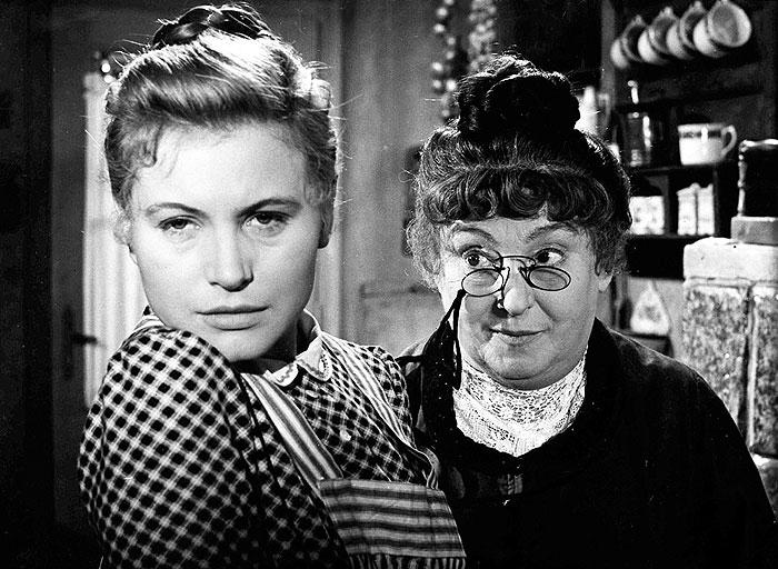 S Marií Tomášovou ve svém posledním filmu Morálka paní Dulské