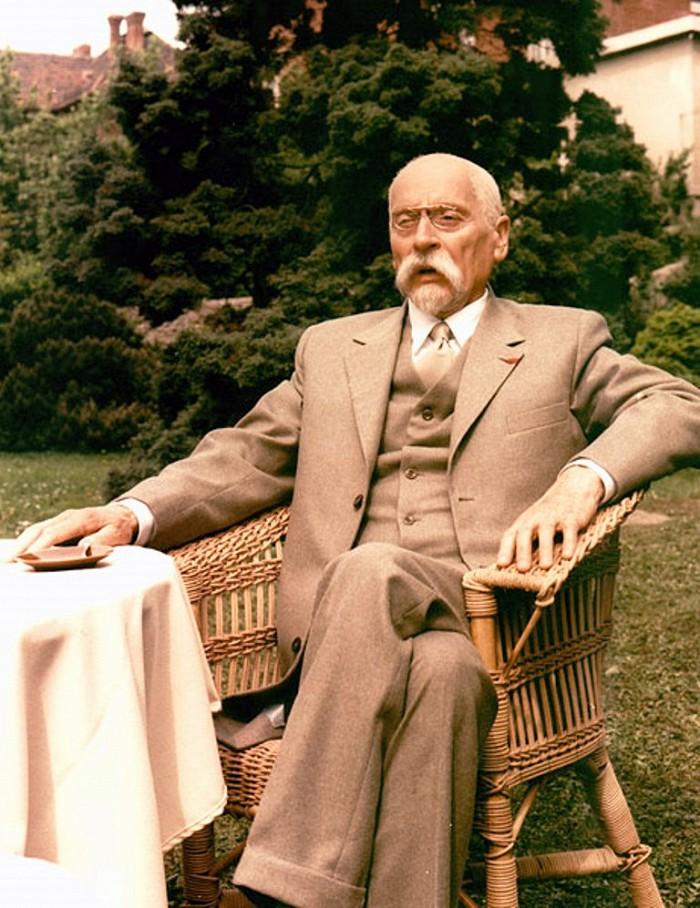 Prezident Masaryk v dramatu Člověk proti zkáze