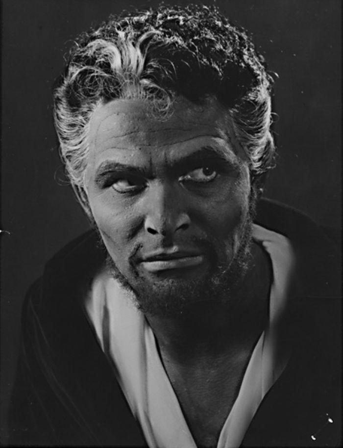 Othello v roce 1960 v Městském divadle Kladno
