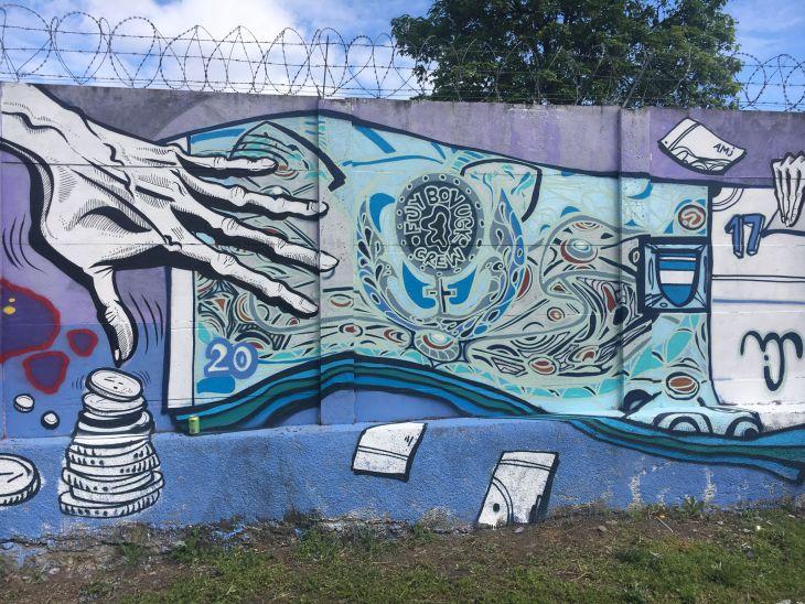 Brno - graffiti