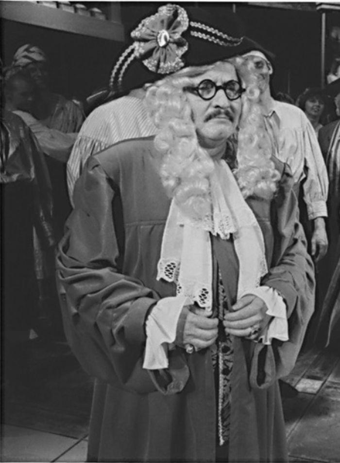 Stanislav Bruder v roce 1993 v operetě Noc v Benátkách