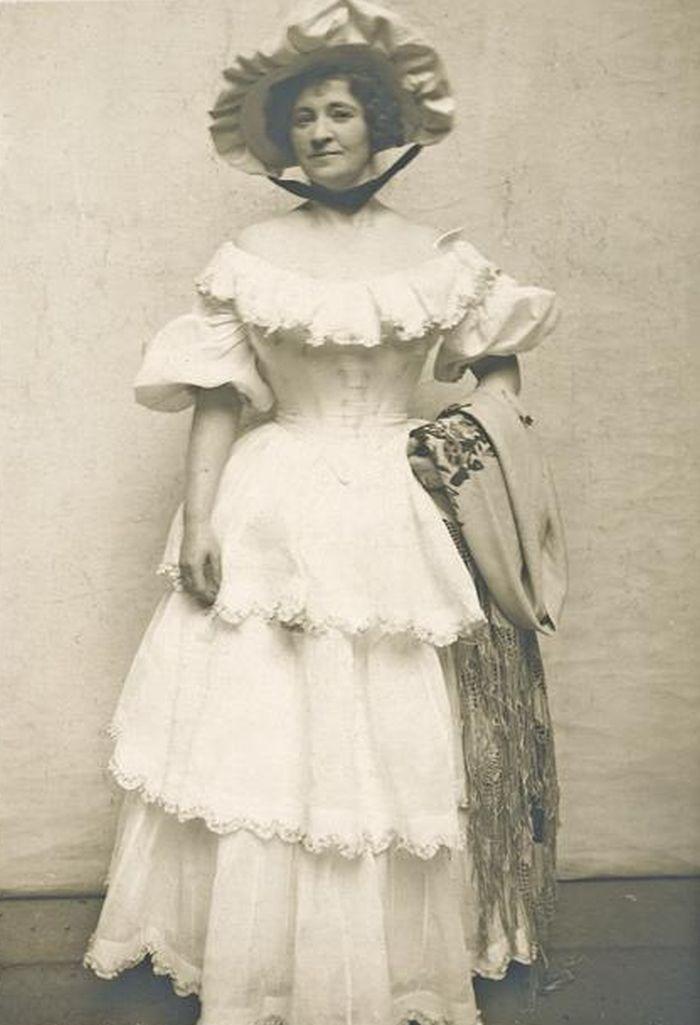 Matylda ve veršované veselohře Františka Xavera Svobody Čekanky – Národní divadlo 1916